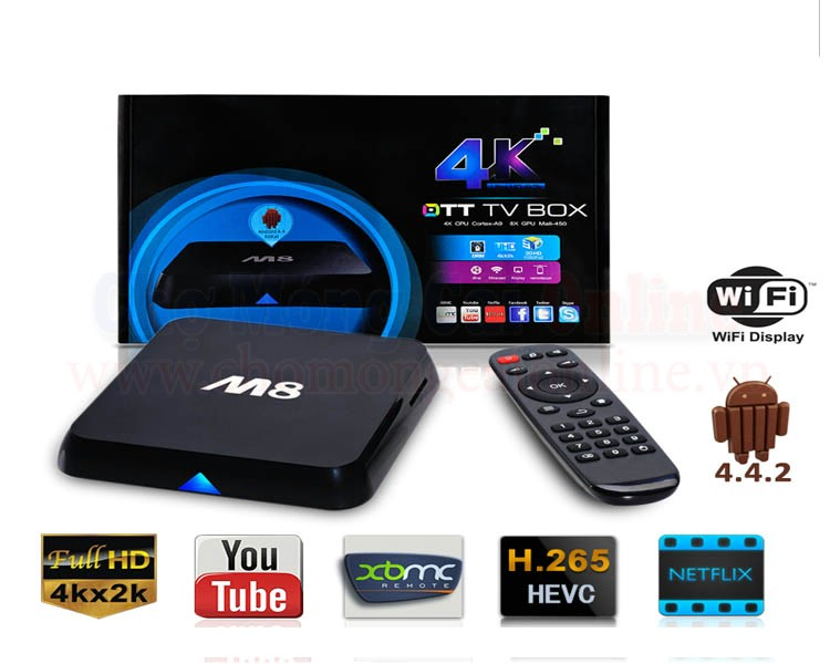 Android TV Box M8-S802