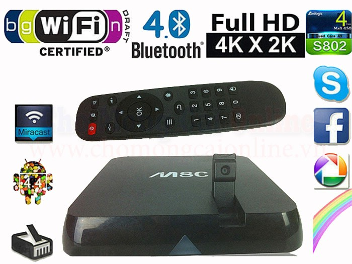 Android TV Box Camera-M8C