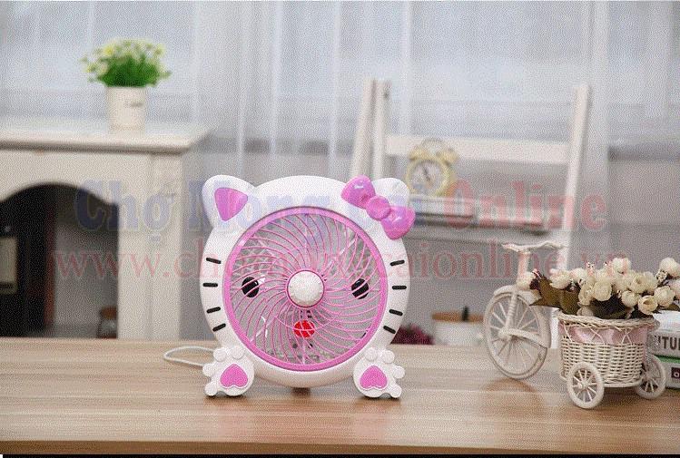 Quạt bàn mini mèo con