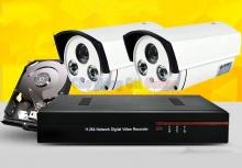 Bộ 2 Camera quan sát WD1 960H