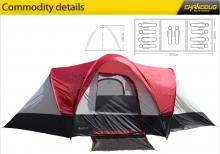 Lều cắm trại 8 người Chanodug