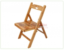 Ghế gỗ gấp gia đình