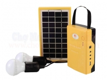 Hệ thống đèn năng lượng mặt trời mini NM-XT002A-6V