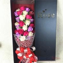 Hoa hồng sáp hộp 33 bông HQ025