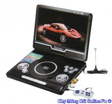 Đầu đĩa DVD xách tay có TV, đài FM và chơi Game  (NS 9266)