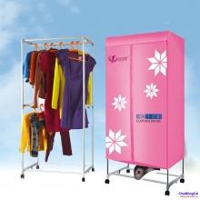 Tủ sấy quần áo khung Inox cao cấp